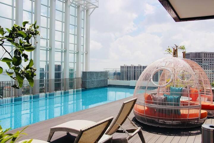 ☀ A Modern & Bright Suasana Suites in Johor Bahru ☀
