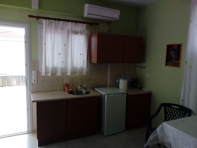 olga' s apartment.