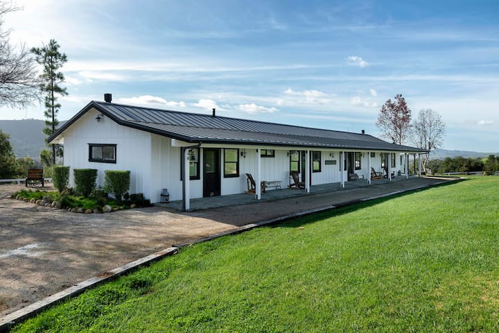 Ballard Canyon Ranch (2BDRM SIDE) in Wine Country
