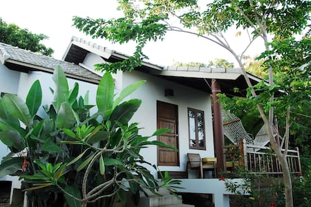Lovely forrest bungalow near private beach - Ko Pha-ngan - Bungalow
