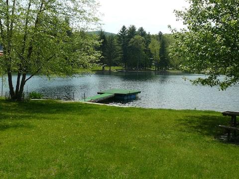 Cottage on beautiful lake
