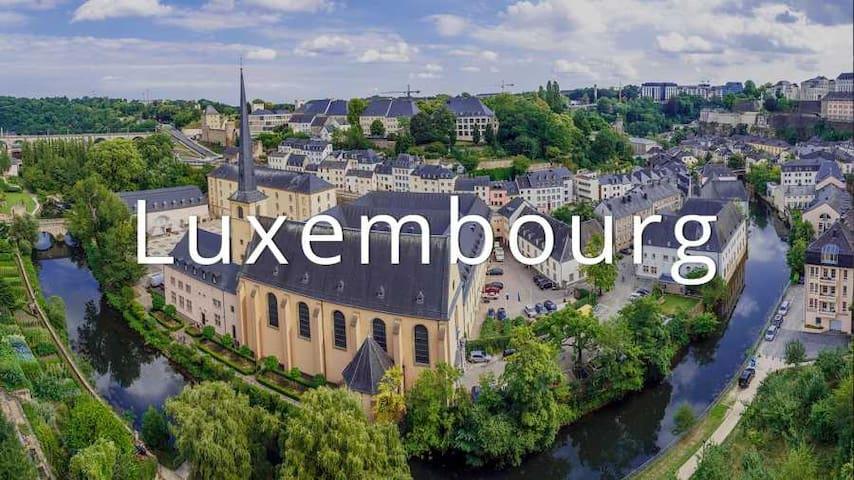 50m² flat, great location, 1-4 people - Luksemburg - Apartament