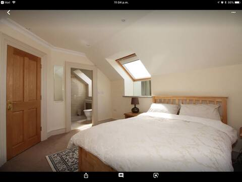 Small double with private bathroom