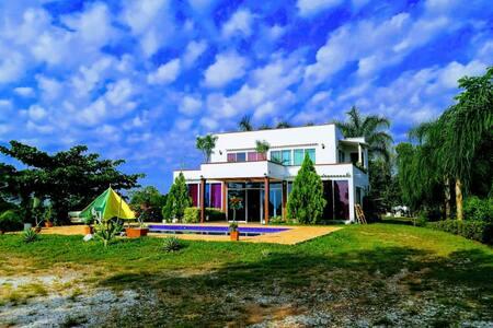 Casa de campo cerca Hacienda Napoles
