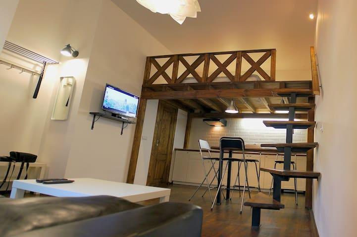 Двухуровневая студия в центре Бреста - Brest - Apartment