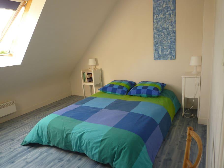 Voici la chambre proposée.