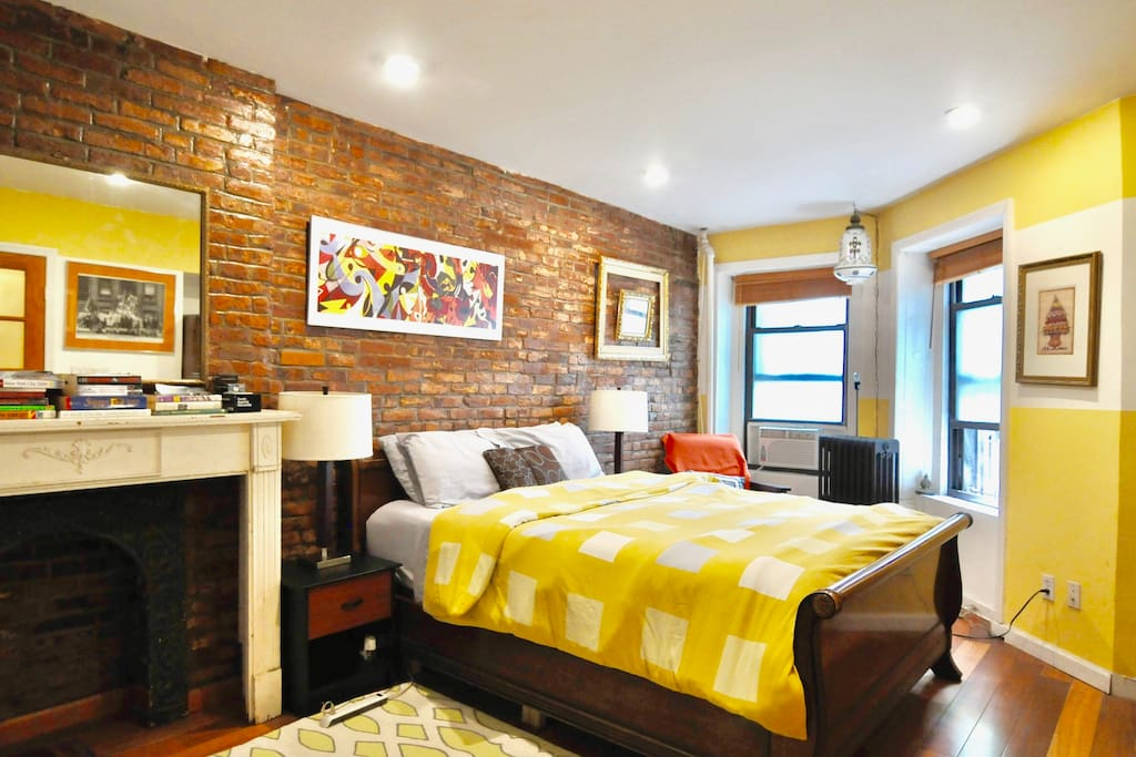 Lovely 2 bedroom apartment with backyard access guest suites for rent in brooklyn new york 5 bedroom apartment brooklyn