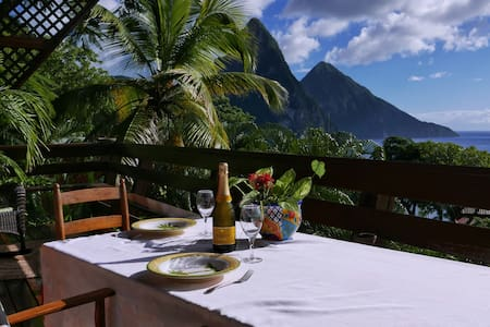 Treehouse Hideaway Villa II - Amazing Piton Views