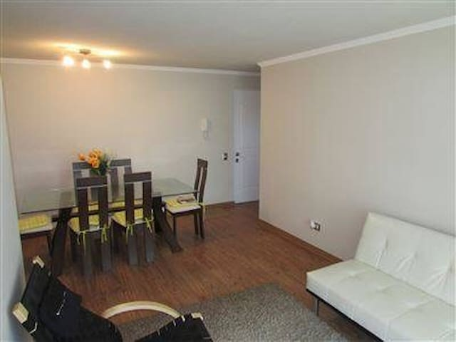 Beautiful apt, 3B/ 2 washroom, wifi n laundry. - La Serena - Byt