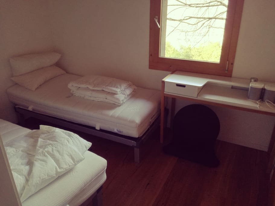 2nd room - two single bed