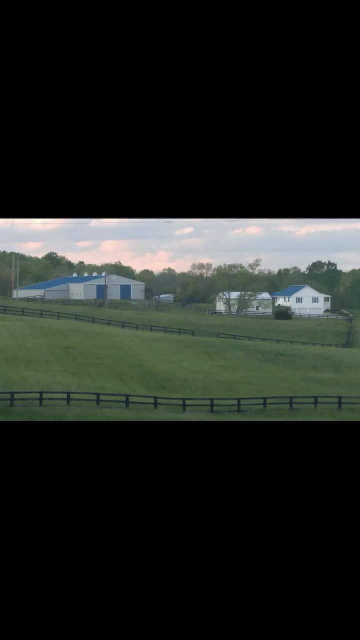 Beautiful farmhouse in the heart of Kentucky