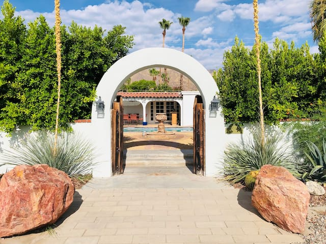 Main archway to your oasis