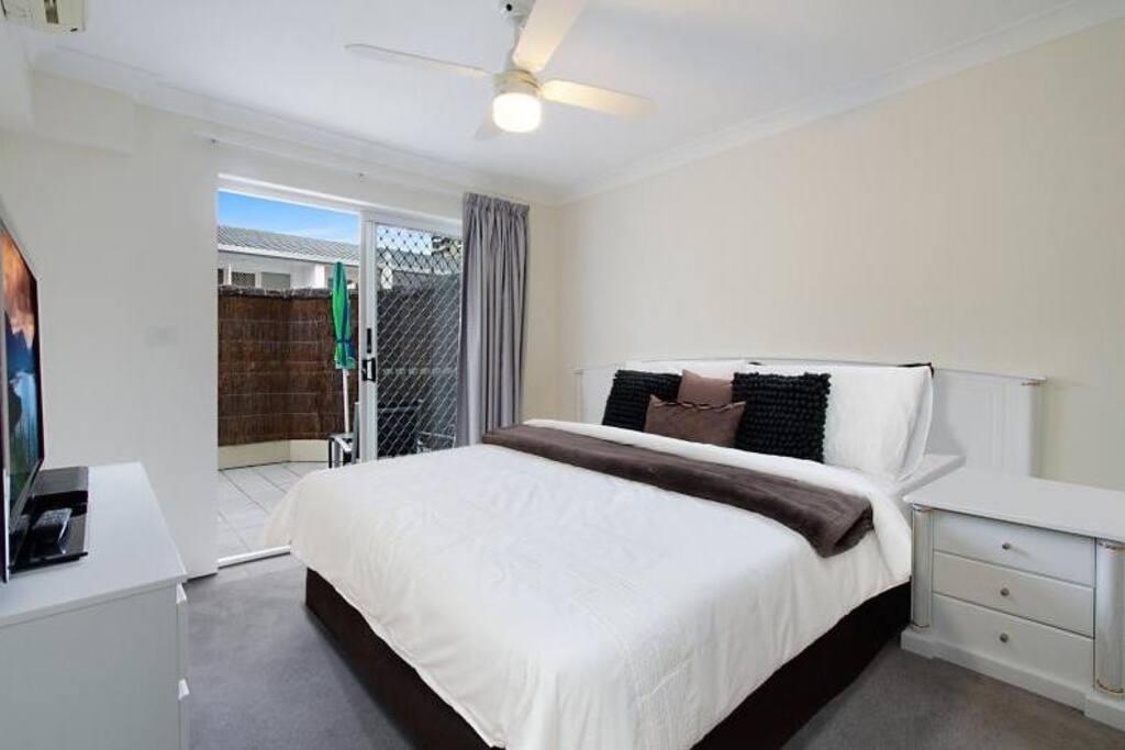 Air condition bedroom + Ensuite