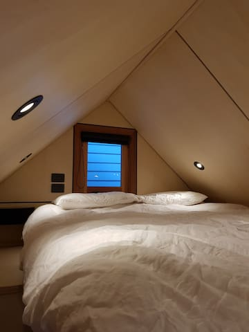 Bedroom loft with King bed