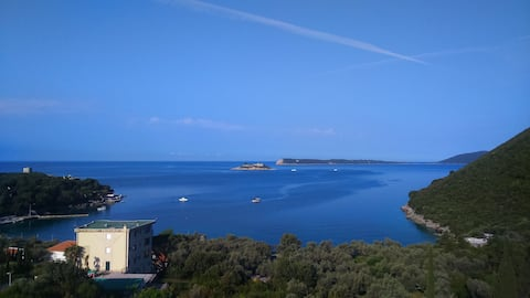 Amazing sea view apartment in Villa Odiva