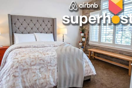 Best Superhosts Luxury ❤️+NoFee +DeepClean+Parking