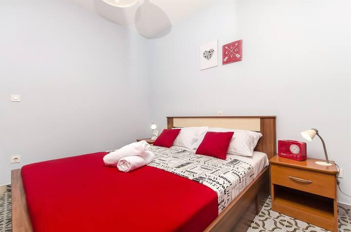 One bedroom Apartment, in Novalja - island Pag, Outdoor pool, Balcony, Terrace