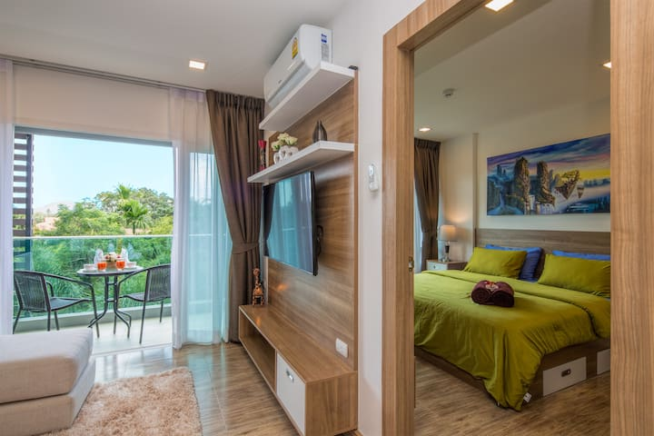 Fantastic 1 Bedroom Apartment @Nai Harn beach-900m