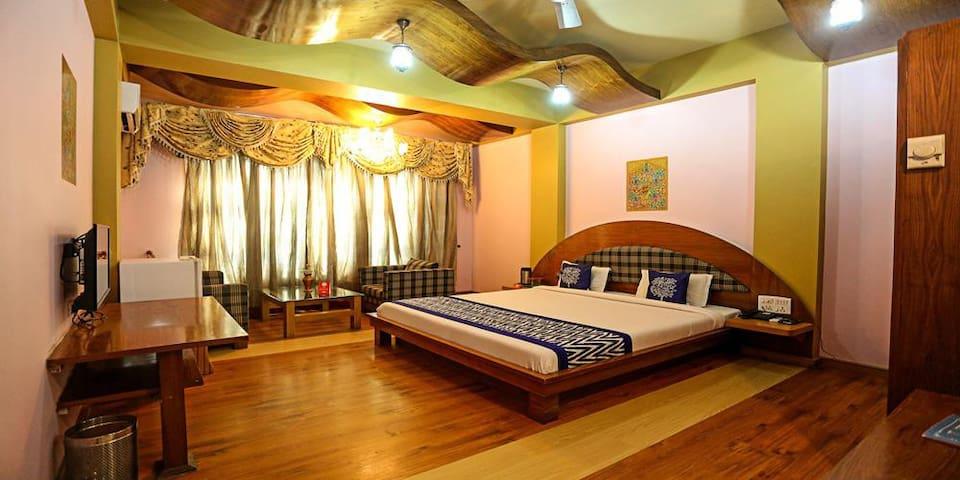Accomodation along with Bed & Breakfast at Premium Room @ Jammu&Kashmir