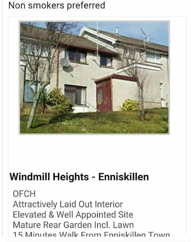 3 bedroom home, price per night. - Fermanagh - Casa