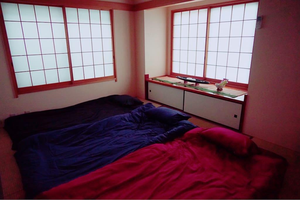 Modern Japanese room.
