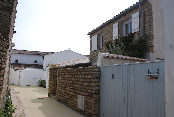 Charmante petite maison de vacances centre village - Les Portes-en-Ré - 獨棟