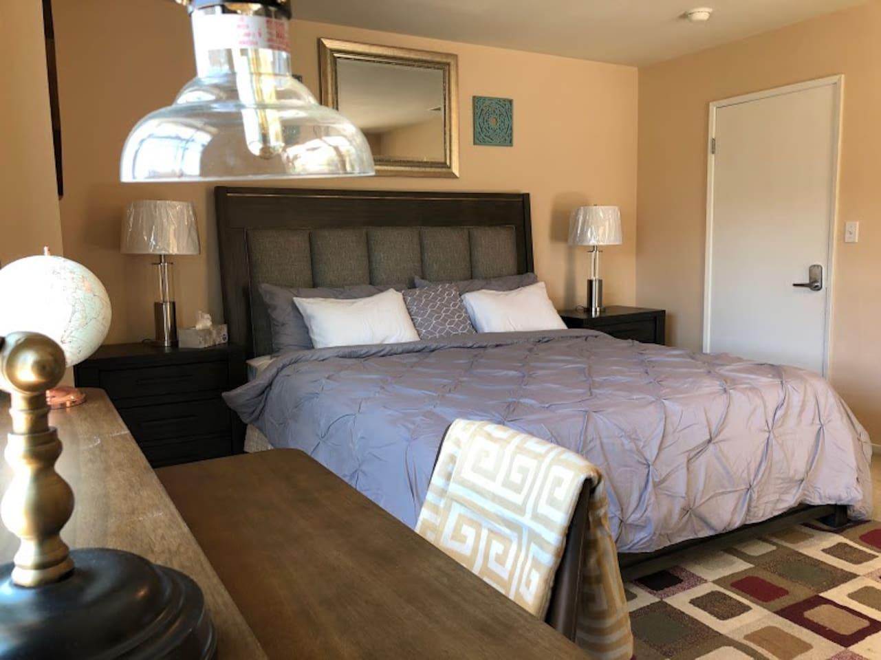 Master King Bedroom Set