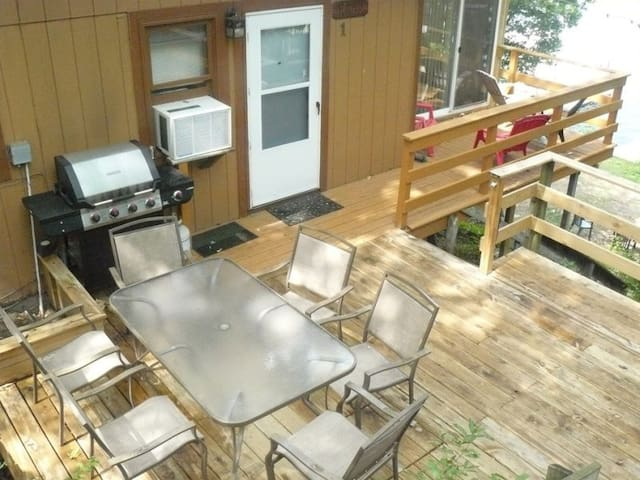 Grill area