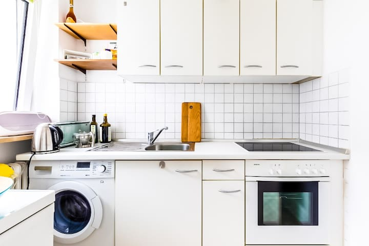★ Convenient flat w/ Kitchen @Gasteig