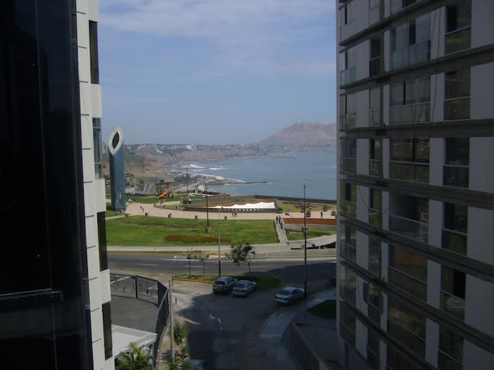 In Miraflores, ocean view, close to Larco Mar Mall