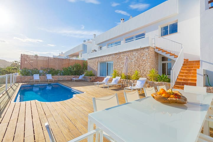 House w Pool overlooking Es Vedra - Sant Josep de sa Talaia - Rumah