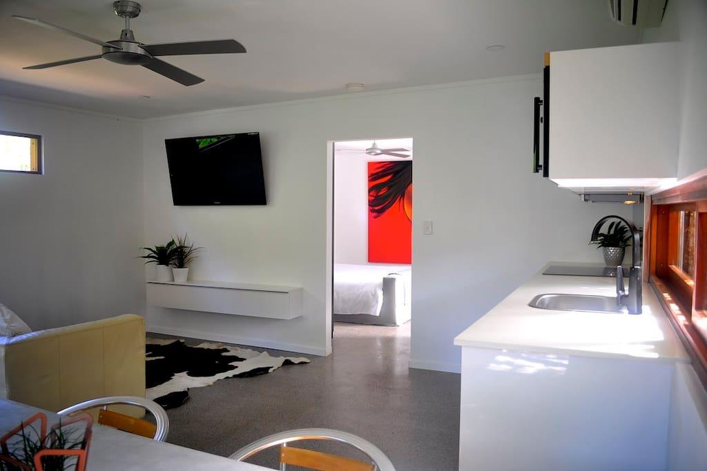 Large kitchen bench top