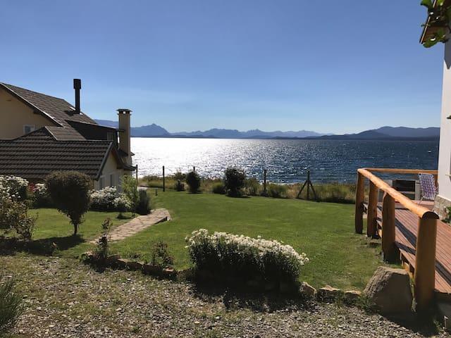 Espectacular vista al lago Nahuel Huapi