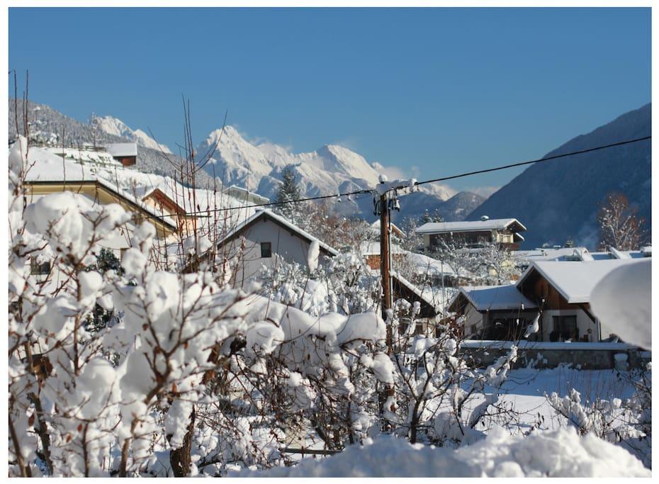 Winter, Gurgltal Valley