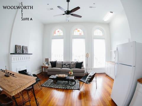 Woolworth Lofts, Suite A. Historic Selma, Alabama