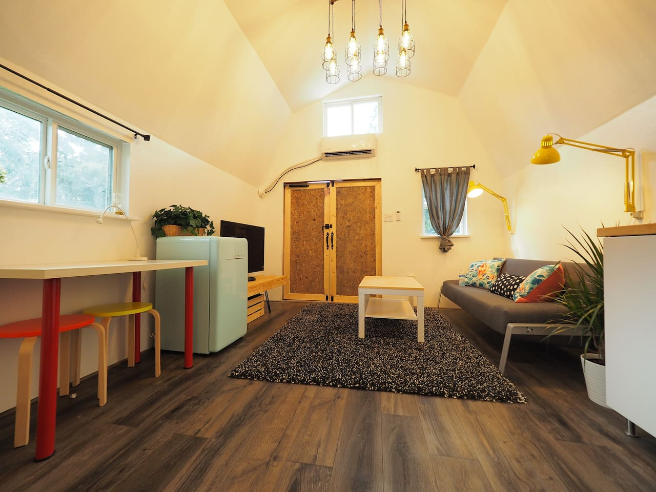 240 square feet of unique living space that you can not find anywhere
