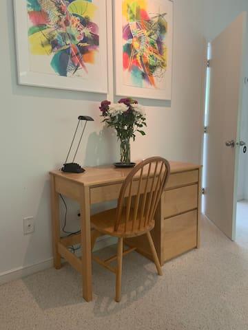 Bedroom desk / study area