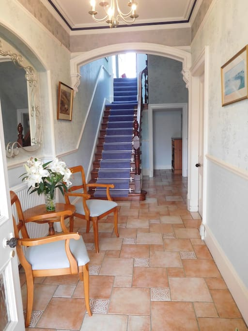 Welcome! Bright and airy entrance hall