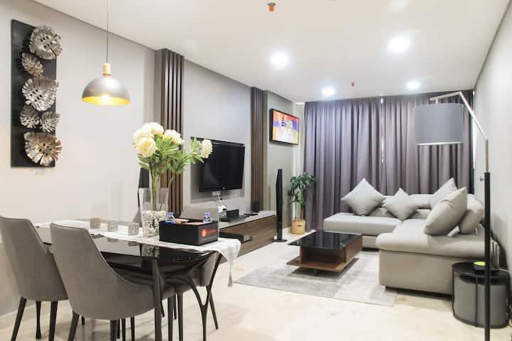 Comfy Living at 2BR The Empyreal Condominium Apt