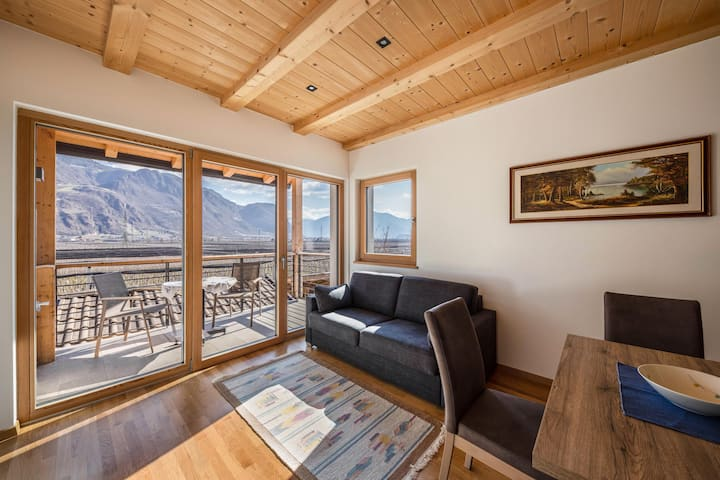 """Bright Apartment """"Ferienwohnung 1 Weger"""" with Panoramic Mountain View, Wi-Fi & Balcony; Parking Available, Pets Allowed at Extra Fee"""
