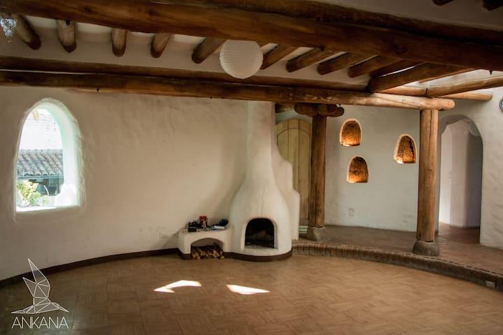 •Cumbaya• Habitación casa en tierra - 基多