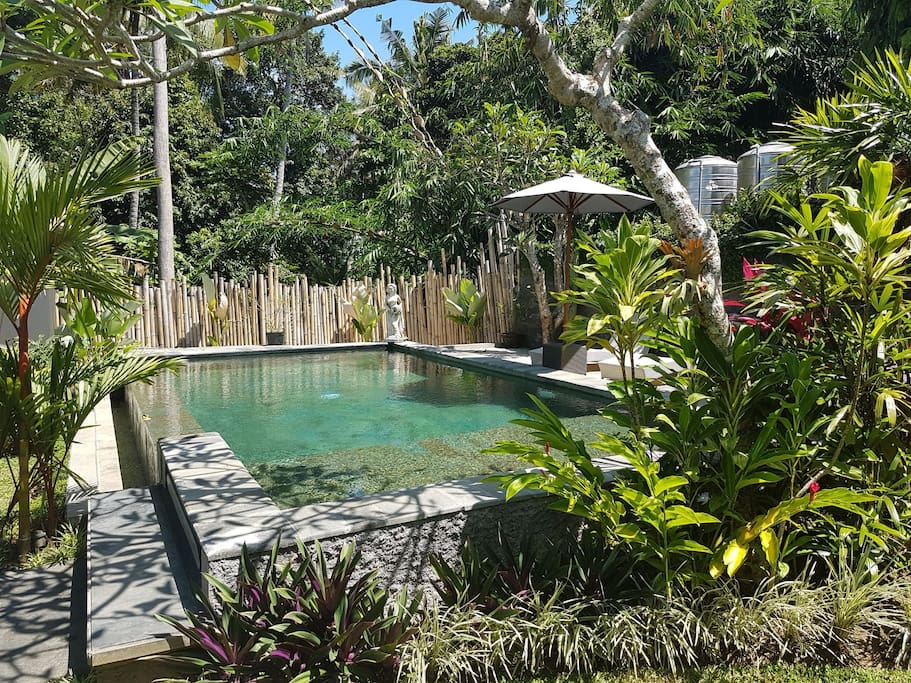 our outdoor pool