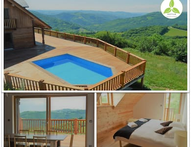 Chalet Celeste - Private Pool & Spa -Stunning View