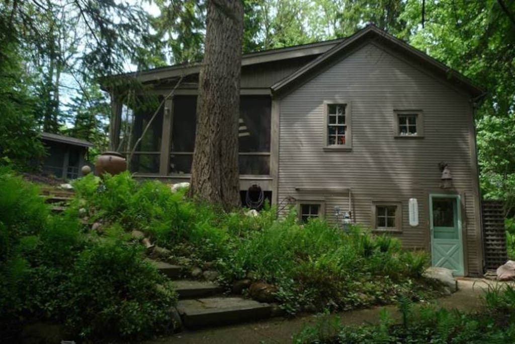 House in the Woods Exterior