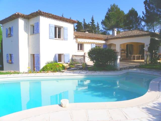 Beautiful Villa with private pool - Auribeau-sur-Siagne - House