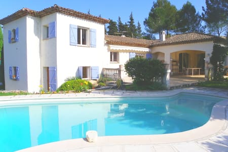 Beautiful Villa with private pool - Auribeau-sur-Siagne - Huis