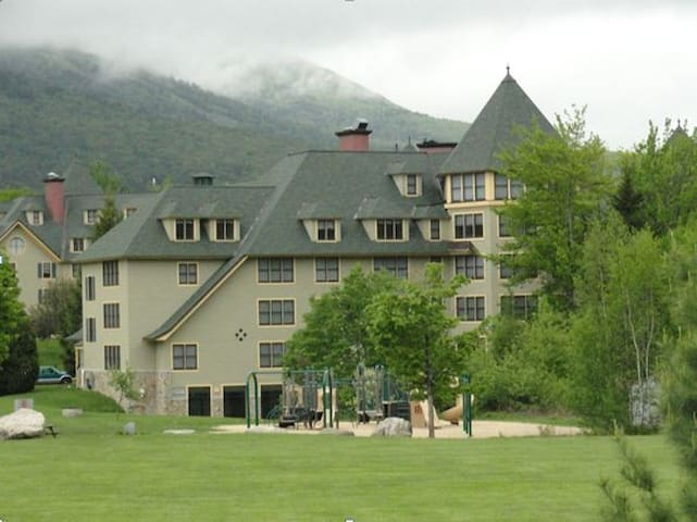 A condo in Golden Eagle Lodge White Mountain NH - Waterville Valley