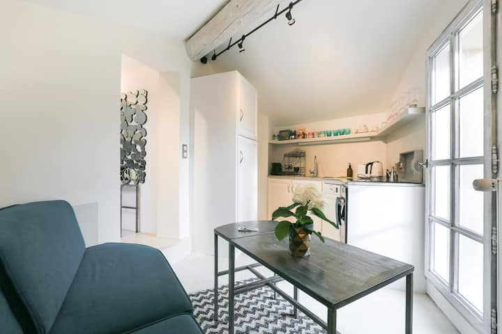 Loft style Rooftop Apartment in Provence - Blanche