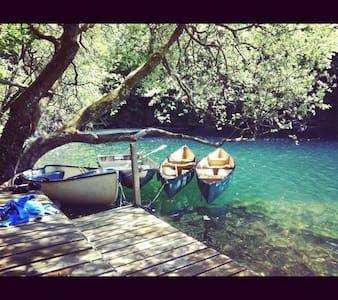 Cornish Tipi Holidays - Family Tipi - Trelill - อพาร์ทเมนท์
