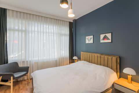 Fully Renovated Spacious Two Bedroom at Cihangir